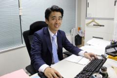 代表の田中宏和です